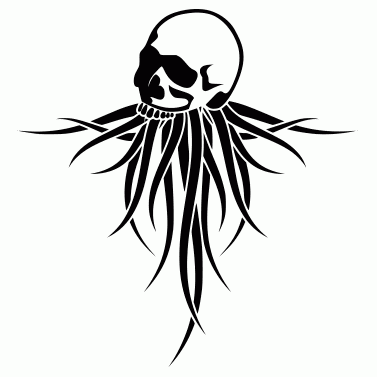 Tattoo design: Skull 4