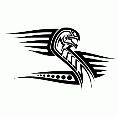 Tattoo design: Snake 8