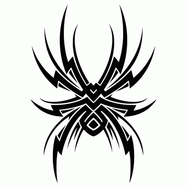 Tattoo design: Spider 3