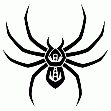Tattoo design: Spider 4