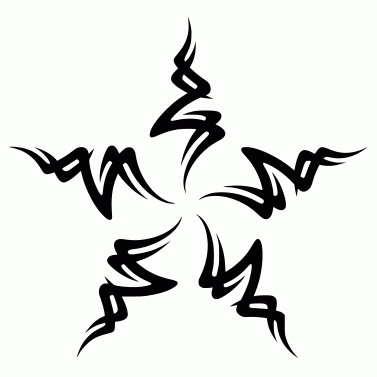 Tattoo design: Star 1