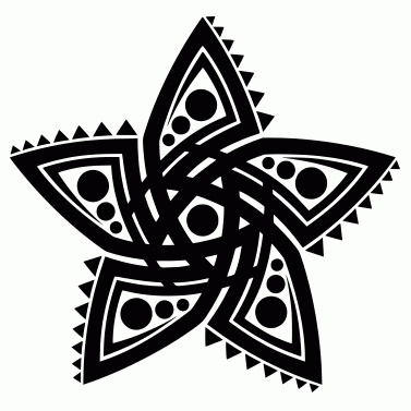 Tattoo design: Star 14