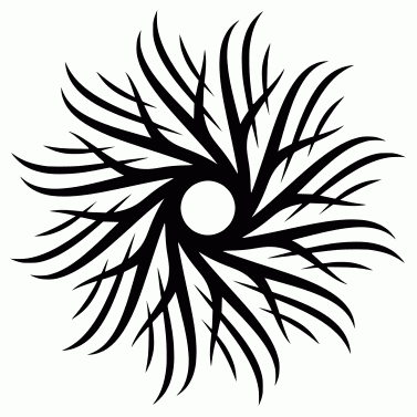 Tattoo design: Sun 14