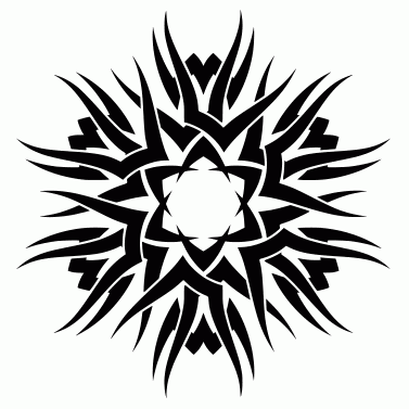 Tattoo design: Sun 28