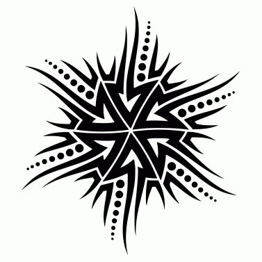 Tattoo design: Sun 40
