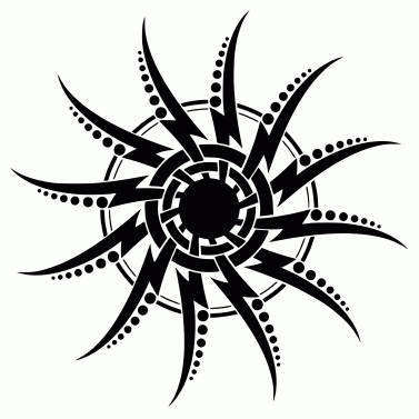 Tattoo design: Sun 41