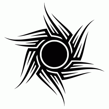 Tattoo design: Sun 8