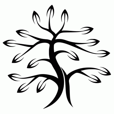 Tattoo design: Tree 2